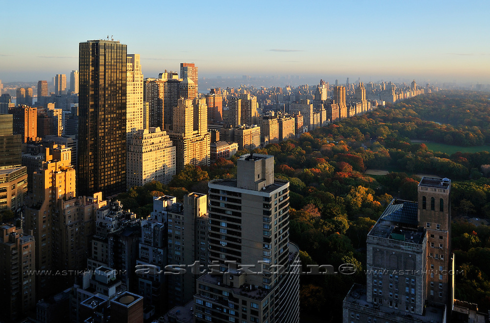 Sunrise in Central Park