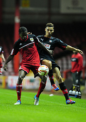 Bristol City U21's Kevin Karns - Photo mandatory by-line: Dougie Allward/Josephmeredith.com  - Tel: Mobile:07966 386802 04/09/2012 - SPORT - FOOTBALL - Professional Development League -  Bristol  - Ashton Gate -  Bristol City U21s v Brentford U21s