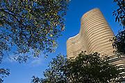 Belo Horizonte, 01/03/2007...O edificio Niemayer e uma das principais atracoes do conjunto arquitetonico da Praca da Liberdade...FOTO: JOAO MARCOS ROSA / AGENCIA NITRO
