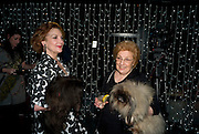 KATHRYN EVANS WITH HER MOTHER  KATHERINE EVANS,  Press night of 'Sunset Boulevard' after-party Meza on Wardour St. London. December 15, 2008. *** Local Caption *** -DO NOT ARCHIVE-© Copyright Photograph by Dafydd Jones. 248 Clapham Rd. London SW9 0PZ. Tel 0207 820 0771. www.dafjones.com.<br /> KATHRYN EVANS WITH HER MOTHER  KATHERINE EVANS,  Press night of 'Sunset Boulevard' after-party Meza on Wardour St. London. December 15, 2008.