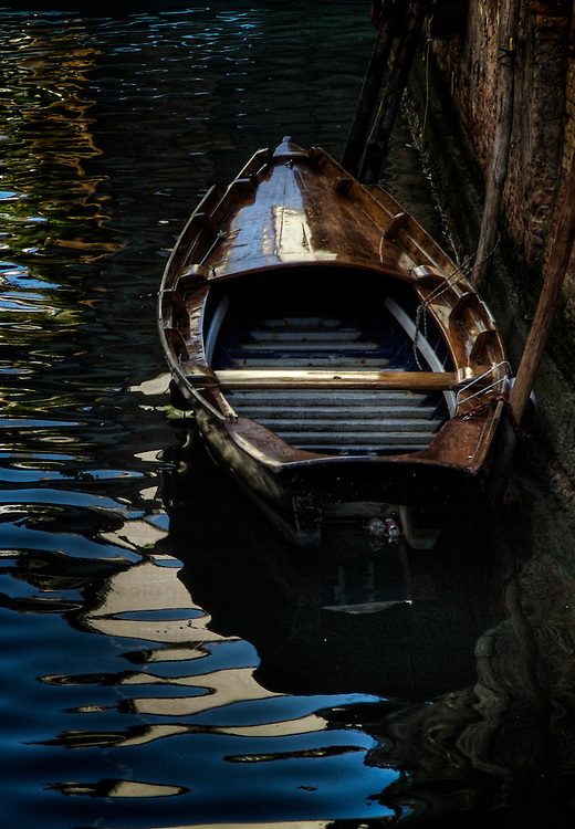 A boat in Venice