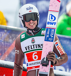 21.01.2118, Heini Klopfer Skiflugschanze, Oberstdorf, GER, FIS Skiflug Weltmeisterschaft, Teambewerb, im Bild Piotr Zyla (POL) // Piotr Zyla of Poland during Team competition of the FIS Ski Flying World Championships at the Heini-Klopfer Skiflying Hill in Oberstdorf, Germany on 2118/01/21. EXPA Pictures © 2118, PhotoCredit: EXPA/ Peter Rinderer