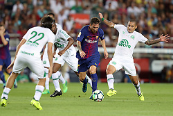 August 7, 2017 - Barcelona, Spain - Lionel Messi of FC Barcelona during the 2017 Joan Gamper Trophy football match between FC Barcelona and Chapecoense on August 7, 2017 at Camp Nou stadium in Barcelona, Spain. (Credit Image: © Manuel Blondeau via ZUMA Wire)
