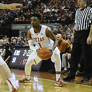 Feb 14, 2015: The University of Texas at Austin vs. Texas Tech Frank Erwin Center, Austin, Texas.
