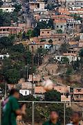Belo Horizonte_MG, Brasil...1a Copa Kaiser de Futebol Amador de Belo Horizonte. Na foto partida entre  Palestra (verde)  x  Bandeirante (branco). ..1st Kaiser Cup of Amateur Football in Belo Horizonte. The match was between Palestra  (green) x  Bandeirante (white). ..Foto: NIDIN SANCHES / NITRO