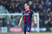 Matthew Kilgallon (5) of Bradford City during the EFL Sky Bet League 1 match between Plymouth Argyle and Bradford City at Home Park, Plymouth, England on 24 February 2018. Picture by Graham Hunt.