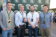 30/04/2014. Cormac Killilea, Ollie Canning, Mike Roche and Ciaran Ryan at the Jameson Cult Film Club screening of The Usual Suspects in the Black Box Galway. <br />  .Photo:Andrew Downes