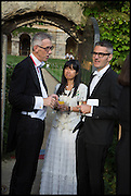 PROVOST WORCESTER COLLEGE PROF JONATHAN BATE; JAMES PALUMBO; PIM, The Tercentenary Ball, Worcester College. Oxford. 27 June 2014