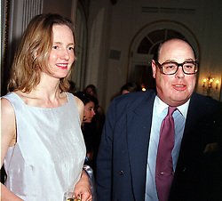The HON.NICHOLAS & MRS SOAMES at a party in<br />  London on 15th May 2000.OEB 35