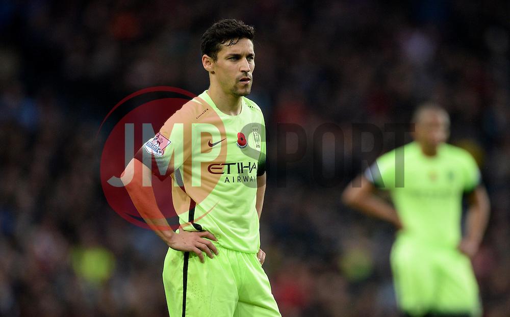 Jesus Navas of Manchester City - Mandatory byline: Alex James/JMP - 07966 386802 - 08/11/2015 - FOOTBALL - Villa Park - Birmingham, England - Aston Villa v Manchester City - Barclays Premier League
