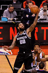 January 22, 2019 - Toronto, Ontario, Canada - Willie Cauley-Stein #00 of the Sacramento Kings gets the ball during the Toronto Raptors vs Sacramento Kings  NBA regular season game at Scotiabank Arena on January 22, 2018 in Toronto, Canada (Toronto Raptors win 120-105) (Credit Image: © Anatoliy Cherkasov/NurPhoto via ZUMA Press)
