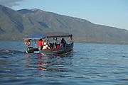 Boat ride on Lake Kerkini, Greece