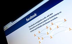 THEMENBILD - Webseite von Facebook mit Logo, aufgenommen am 29.01.2015, Österreich // Website of Facebook in German, Austria on 2015/01/29. EXPA Pictures © 2015, PhotoCredit: EXPA/ JFK