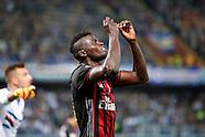 Sampdoria - AC Milan - Serie A - 17/09/2016
