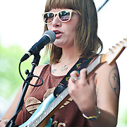 Best Coast openes Day 3 at the 2010 Pitchfork Music Festival in Chicago, IL.