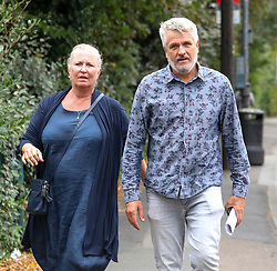 © Licensed to London News Pictures. 11/02/2019. London, UK. Ben and Nickie Bennett parents of Sophie Bennett 19, who committed suicide while in care at Lancaster Lodge, Richmond, South London arrive at Wimbledon Magistrates for the trial of Clinical lead Duncan Lawrence. Photo credit: Alex Lentati/LNP