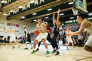 Vermont's Payton Henson (25) looks to pass the ball during the men's basketball game between the Dartmouth Big Green and the Vermont Catamounts at Patrick Gym on Wednesday December 7, 2016 in Burlington (BRIAN JENKINS/for the FREE PRESS)