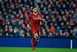 LIVERPOOL, ENGLAND - Sunday, February 4, 2018: Liverpool's Emre Can during the FA Premier League match between Liverpool FC and Tottenham Hotspur FC at Anfield. (Pic by David Rawcliffe/Propaganda)