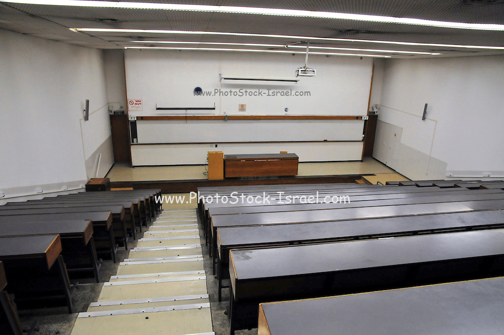 Israel, Haifa University Lecture hall