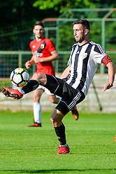 Alen Kozar of ND Mura during football match between ND Mura and ND Tabor Sezana in Round #28 of 2.SNL 2017/18 on May 13, 2018 in Mestni stadion Fazanerija , Murska Sobota , Slovenia. Photo by Mario Horvat / Sportida