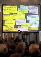 SOESTDUINEN - Algemene Ledenvergadering van de NGF (Nederlandse Golf Federatie) met bestuurswisseling. COPYRIGHT KOEN SUYK