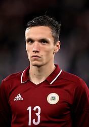 Latvia's Raivis Jurkovskis