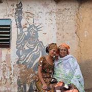 Youma Dicko and daughter Nana Siby