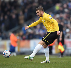 Bristol Rovers' Lee Brown in action during the Vanarama Conference match between Bristol Rovers and Lincoln City at The Memorial Stadium on 7 February 2015 in Bristol, England - Photo mandatory by-line: Paul Knight/JMP - Mobile: 07966 386802 - 07/02/2015 - SPORT - Football - Bristol - The Memorial Stadium - Bristol Rovers v Lincoln City - Vanarama Conference