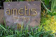 Exterior of Ametis Villa in Canggu.  Bali, Indonesia.