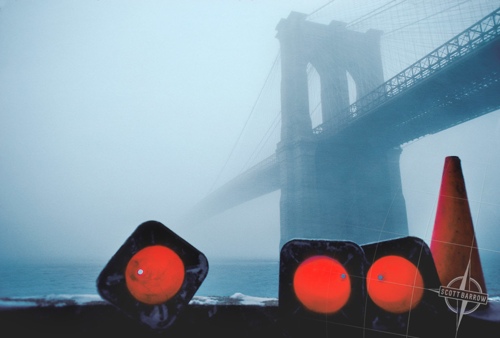 Foggy Crossing