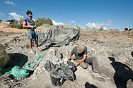 Ronan Allain, Palaeontological excavations at Angeac, Charente, France (July 2016) © Rudolf Abraham