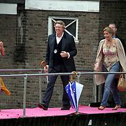 NLD/Amsterdam/20080907 - Gasten van het huwelijksfeest Nina Brink en Pieter Storms, Robert Kranenborg en partner