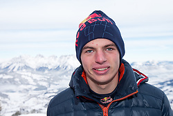 14.01.2016, Hahnenkamm, Kitzbühel, AUT, FIA, Formel 1, Projekt Spielberg Showrun, im Bild Max Verstappen (NED) // Max Verstappen of Netherlands during the Project Spielberg Showrun at Hahnenkamm in Kitzbuehel, Austria on 2016/01/14. EXPA Pictures © 2016, PhotoCredit: EXPA/ Johann Groder