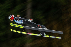 EDER Lisa (AUT) during first round on day 2 of  FIS Ski Jumping World Cup Ladies Ljubno 2020, on February 23th, 2020 in Ljubno ob Savinji, Ljubno ob Savinji, Slovenia. Photo by Matic Ritonja / Sportida