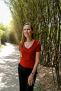 Sarah Bexell at the Chengdu Research Base of Giant Panda Breeding, Chengdu, Sichuan, China.