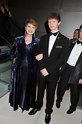 ANNE DIAMOND and her son CONOR DIAMOND at the Soldiering On Awards 2013 held at the Park Plaza Hotel, Westminster Bridge, London SE1 on 23rd March 2013.
