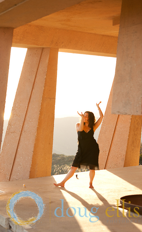 Dancing photos in Malibu..Cecily Miller