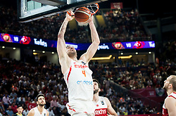 Pau Gasol of Spain during basketball match between National Teams of Spain and Turkey at Day 11 in Round of 16 of the FIBA EuroBasket 2017 at Sinan Erdem Dome in Istanbul, Turkey on September 10, 2017. Photo by Vid Ponikvar / Sportida