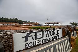 Fahrstadion<br /> Tryon - FEI World Equestrian Games™ 2018<br /> Hintergrundbilder vom Veranstaltungsgelände mit Bauarbeiten<br /> 10.September 2018<br /> © www.sportfotos-lafrentz.de/Stefan Lafrentz