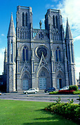 France, Brittany.  Avranches Notre Dame