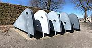 Österreichischer Skulpturenpark (Austrian Sculptures Park), Premstätten.<br /> Karin Hazelwander, Perambulator, 1993