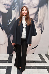 LISA MARIE FERNANDEZ at a dinner to celebrate the exclusive Capsule collection: Maison Michel by Karl Lagerfeld held at Selfridges, 400 Oxford Street, London on 23rd February 2015.