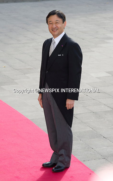 """CROWN PRINCE NARUHITO OF JAPAN.Wedding of HRH the Hereditary Grand Duke and Countess Stéphanie de Lannoy.Religious Ceremony at Cathedral of Our lady of Luxembourg, Luxembourg_20-10-2012.Mandatory credit photo: ©Dias/NEWSPIX INTERNATIONAL..(Failure to credit will incur a surcharge of 100% of reproduction fees)..                **ALL FEES PAYABLE TO: """"NEWSPIX INTERNATIONAL""""**..IMMEDIATE CONFIRMATION OF USAGE REQUIRED:.Newspix International, 31 Chinnery Hill, Bishop's Stortford, ENGLAND CM23 3PS.Tel:+441279 324672  ; Fax: +441279656877.Mobile:  07775681153.e-mail: info@newspixinternational.co.uk"""
