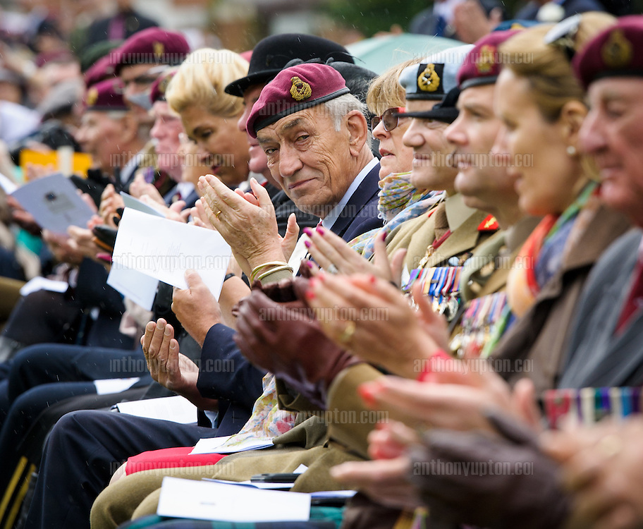 20140921       Copyright image 2014&copy;<br /> General Jackson of the Parachute Regiment at Oosterbeek Cemetery  Military  as part of the Arnhem 70th Anniversary Celebrations<br /> <br /> For photographic enquiries please call Anthony Upton 07973 830 517 or email info@anthonyupton.com <br /> This image is copyright Anthony Upton 2014&copy;.<br /> This image has been supplied by Anthony Upton and must be credited Anthony Upton. The author is asserting his full Moral rights in relation to the publication of this image. All rights reserved. Rights for onward transmission of any image or file is not granted or implied. Changing or deleting Copyright information is illegal as specified in the Copyright, Design and Patents Act 1988. If you are in any way unsure of your right to publish this image please contact Anthony Upton on +44(0)7973 830 517 or email: