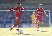 Mark Marshall of Charlton Athletic  during the EFL Sky Bet League 1 match between Rochdale and Charlton Athletic at Spotland, Rochdale, England on 5 May 2018. Picture by Paul Thompson.