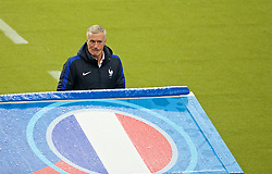 PARIS, FRANCE - Sunday, July 3, 2016: France's head coach Didier Deschamps during the UEFA Euro 2016 Championship Semi-Final match against Iceland at the Stade de France. (Pic by Paul Greenwood/Propaganda)