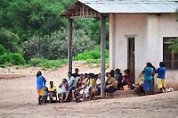 Guarani women in a community meeting in Isosog, Santa Cruz, Bolivia