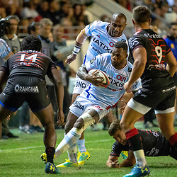 Virimi Vakatawa of Racing 92 during Top 14 match between Toulon and Racing 92 on August 25, 2018 in Toulon, France. (Photo by Henri/Icon Sport)