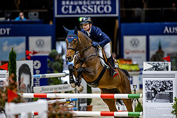 JUNG Michael (GER), Edo Sandra<br /> Preis der fair ground GmbH<br /> Int. jumping competiton against the clock (1,35-1,40m) - CSIYH1*<br /> Braunschweig - Classico 2020<br /> 06.03.20<br /> © www.sportfotos-lafrentz.de/Stefan Lafrentz
