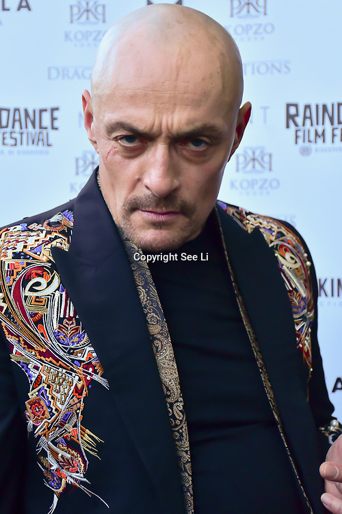 "Sean Cronin is an actor attends The Third Annual Integrity Awards by Dragon Lady Productions and The Peace Project 21st ""The Alternative Fashion Integrity Awards 2019 & Film Networking Soirée"" on 21 September 2019, Fire Club Vauxhall, London, UK."